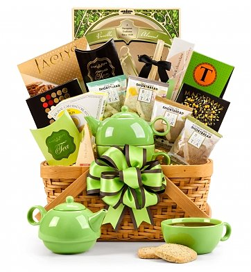 75th Birthday Teatime Gift Basket