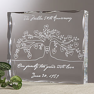 Family Tree Personalized Keepsake