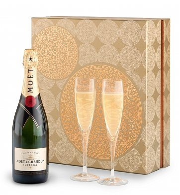 75th Birthday Champagne Gift