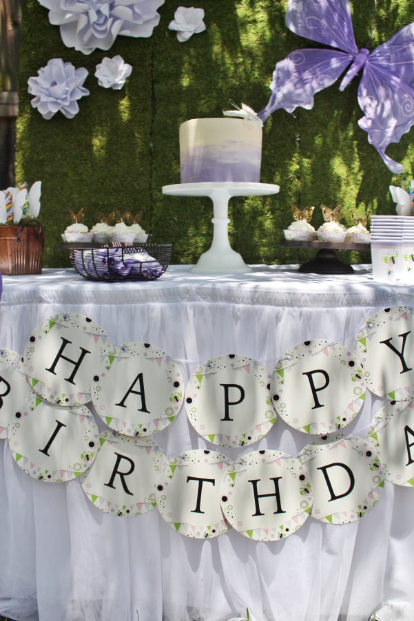 Create an elegant 75th birthday garden party for your favorite lady!