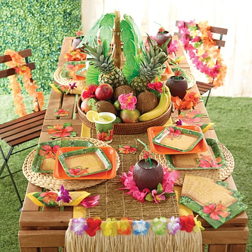 Celebrate a special birthday with a festive luau!