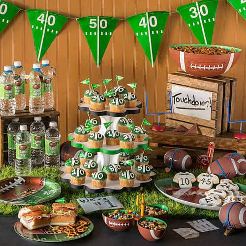 For the man (or woman) who's a die-hard fan, a tailgating party is the perfect way to celebrate a 75th birthday!
