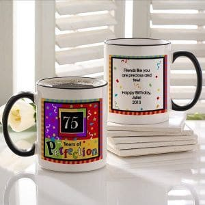 Personalized Birthday Coffee Mug