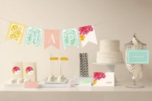 Elegant 75th birthday party decorations