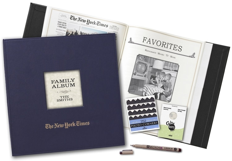 Personalized NY Times Family Album