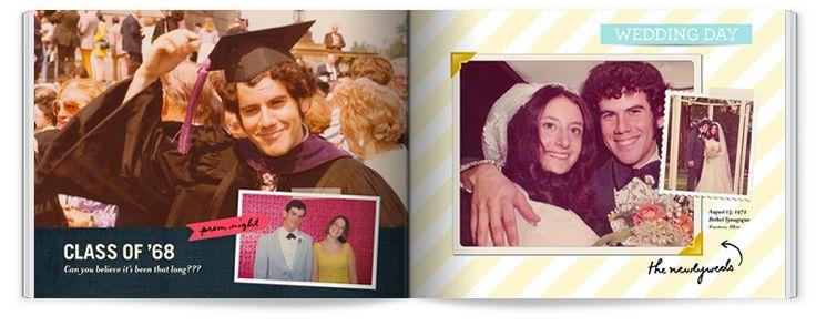 Milestone Birthday Photo Book