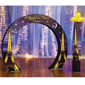 75th Birthday Party Personalized Arch