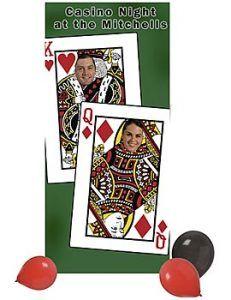 Personalized 75th Birthday Casino Decorations