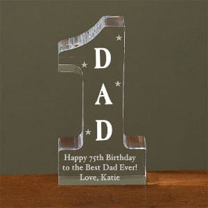 #1 Dad Personalized Keepsake