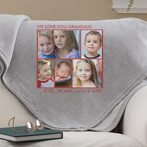 Sweatshirt Blanket with Photos