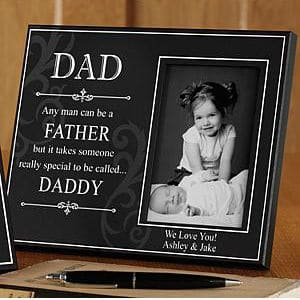 It Takes Someone Special...Personalized Dad Frame