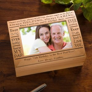 Dad Photo Keepsake Box