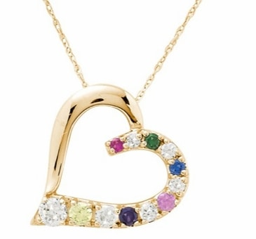 Close to My Heart Birthstone Necklace