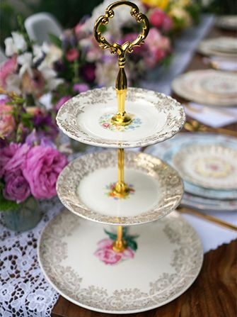 How to Make Your Own Tiered Cake Stand