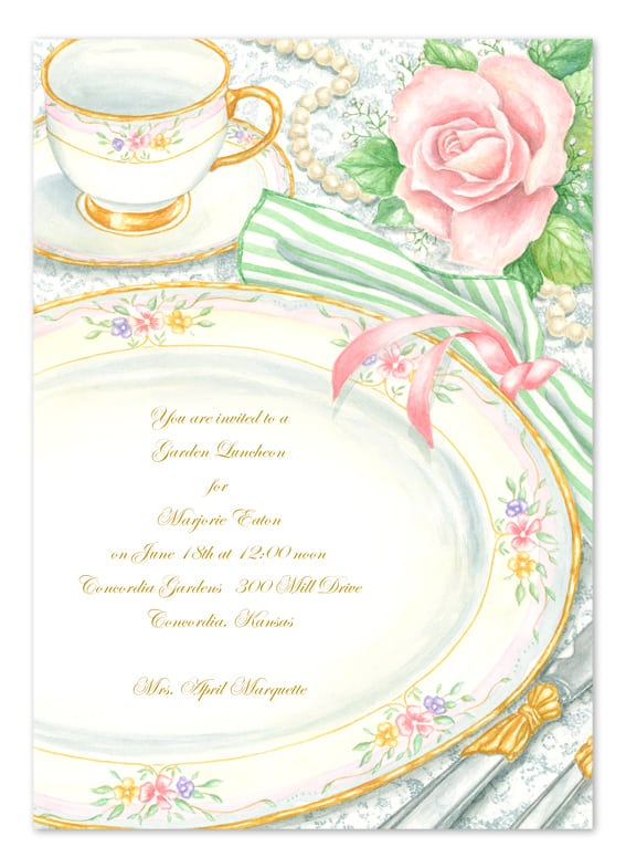 Online Tea Party Invitations was awesome invitation sample