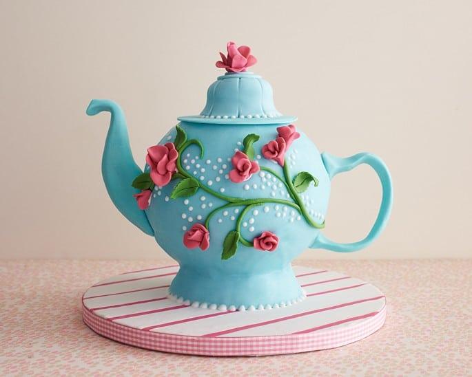 Tea Party Theme for a 75th Birthday