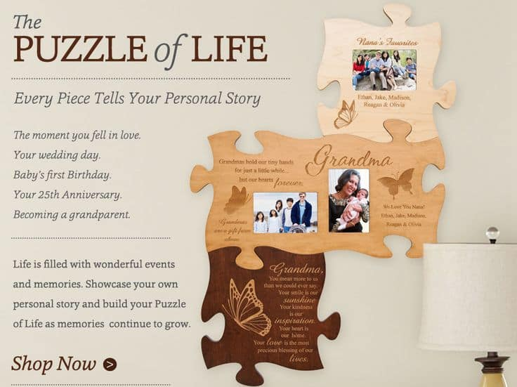 Personalized The Puzzle of Life