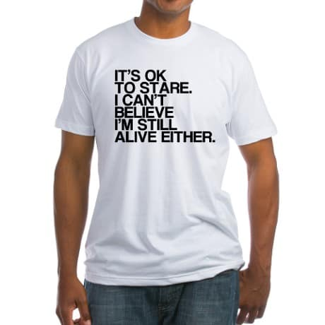 Its Ok to Stare Funny 75th Birthday Shirt