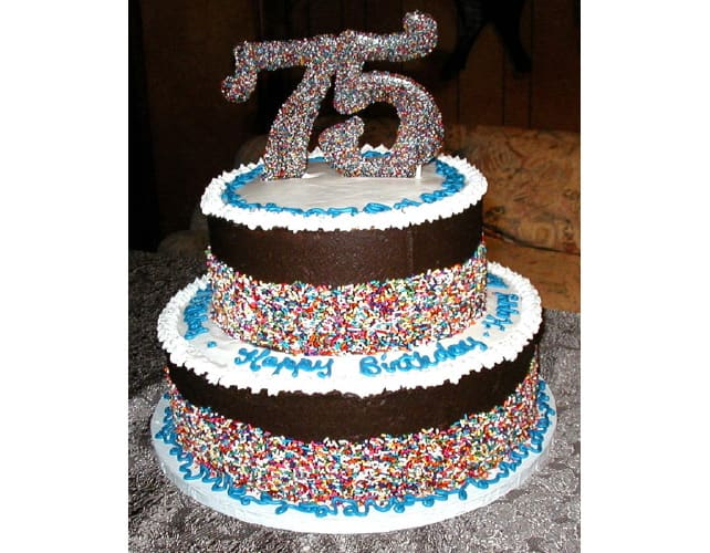 75th Birthday Cakes Fun Cake Ideas For A 75 Year Old Man Or Woman