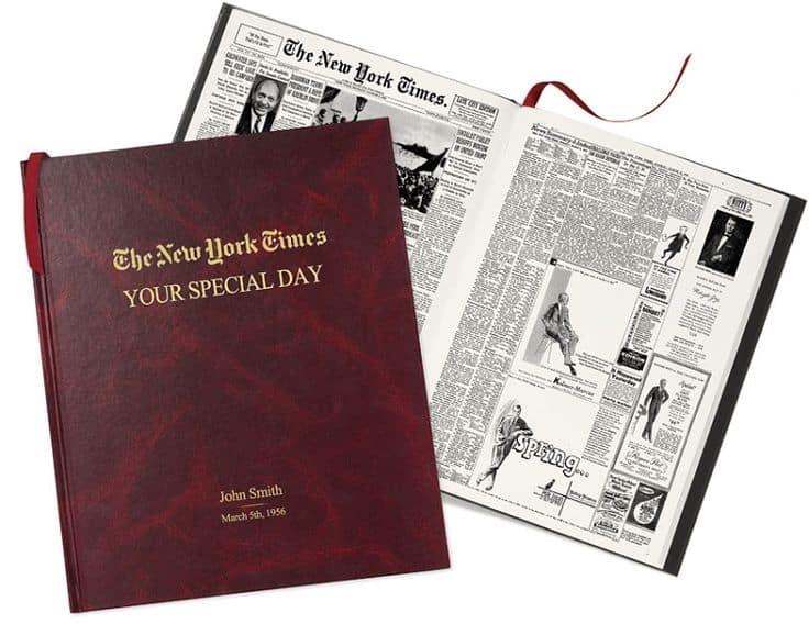 Unique 75th birthday gift ideas