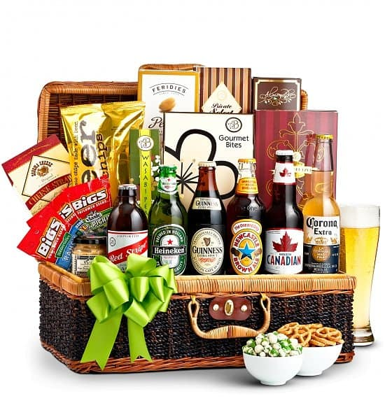 Wine And Beer Gift Basket Ideas Top Th Birthday Gifts Sure To Please