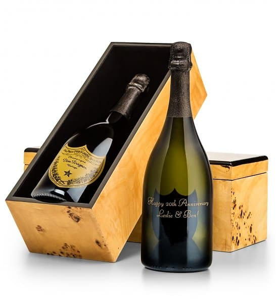 Personalized Bottle of Dom Perignon