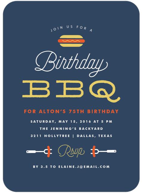 75th Birthday Invitations - 50 Gorgeous 75th Party Invites