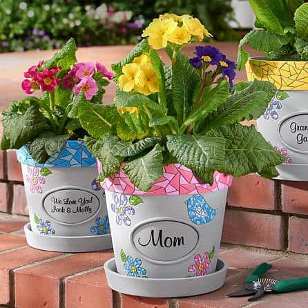 Personalized Flower Pot - Choice of Styles