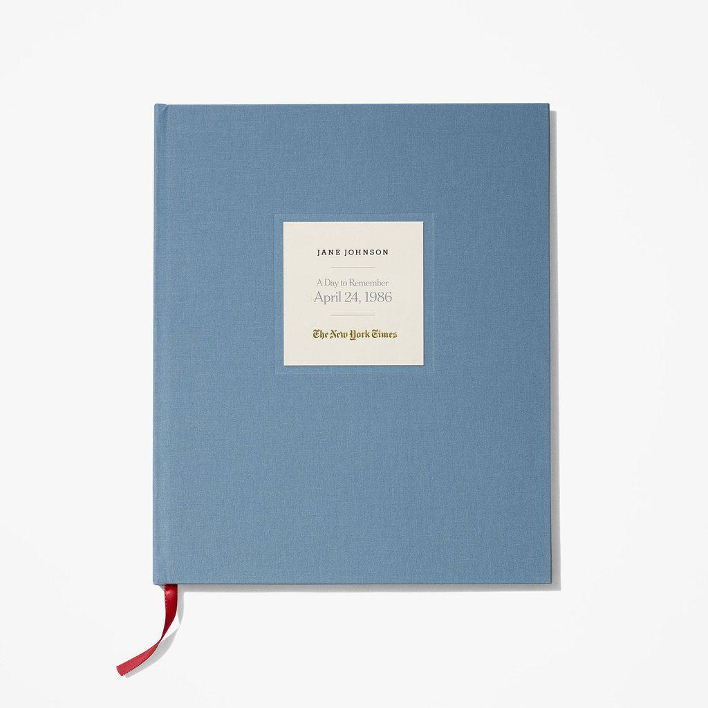 Unique 75th Birthday Gift Ideas - Your Special Day Birthday Book features a complete replica of the New York Times from the day the recipient was born. Perfect for the man or woman who has everything!