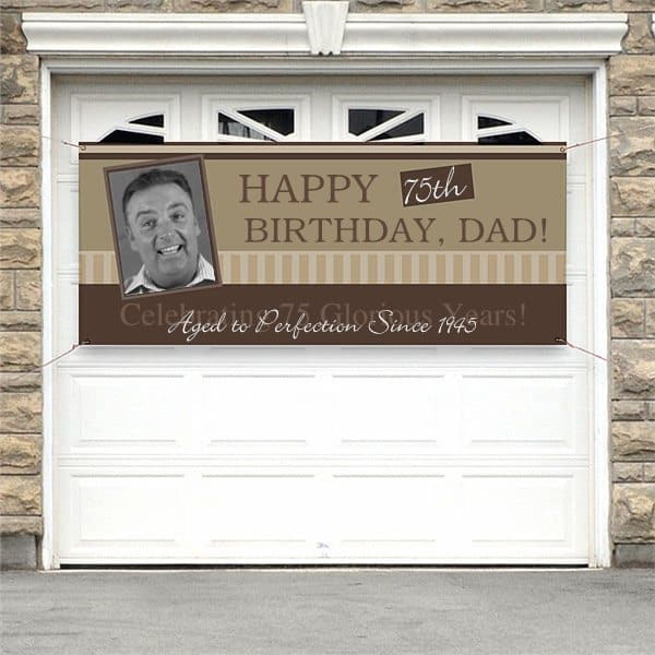 Personalized Birthday Banner with Photo is a wonderful way to welcome guests to your party!