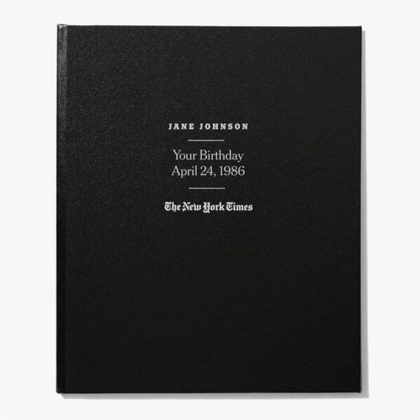 Gifts for 75 Year Old Woman - Looking for a unique 75th birthday gift for the woman who has everything? Impress her with The Custom Birthday Book from The New York Times!