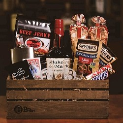Design Your Own Booze Gift Basket - Choice of Spirits
