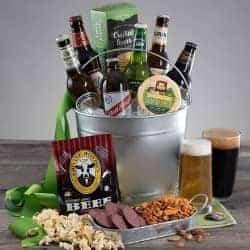 Around the World Beer Gift Basket