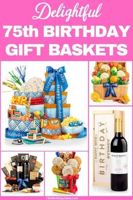Delight a special lady on her birthday with a scrumptious gift basket!