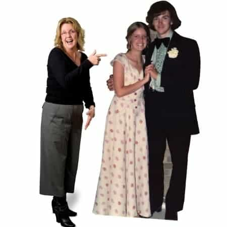Life-size cardboard cutouts are sure to be a hit at any party!