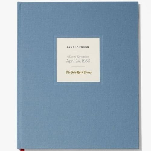 Looking for a unique birthday gift for a 75 year old man or woman who has everything?  Surprise them with The New York Times Special Day Book...a complete reprint of the paper from the day they were born!