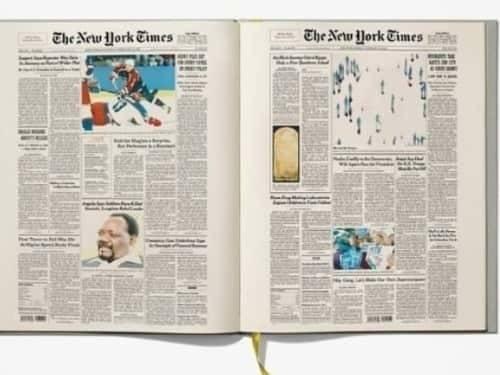 Unique milestone birthday gift - The New York Times Ultimate Birthday Book