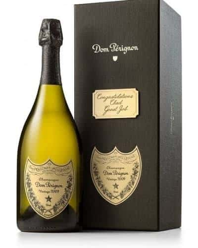 Looking for an impressive gift for a special occasion?  Impress them with Dom Perignon in a personalized box!