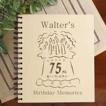 75th Birthday Photo Album