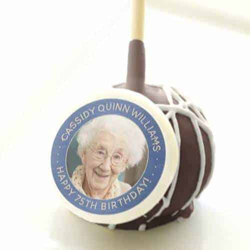 Impress your guests with adorable photo cake pops!  Fun party favors for all ages!